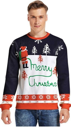 Unisex Merry Christmas Sweater