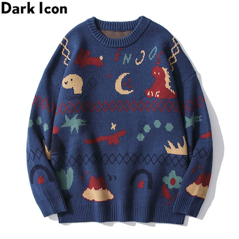 Dark Icon Christmas Sweater