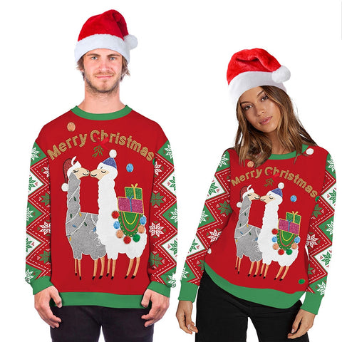 Unisex Alpaca Christmas Sweater