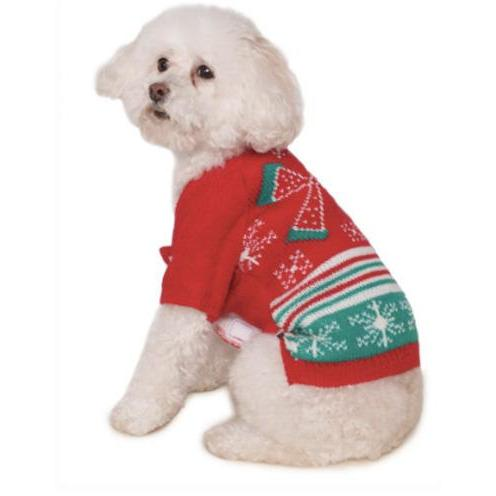Christmas Bow Ugly Pet Sweater