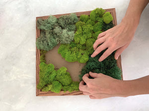 Create Moss Wall Art