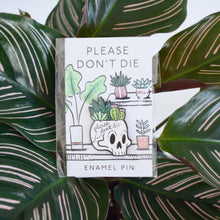 Load image into Gallery viewer, Planty Enamel Pin