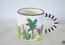 Load image into Gallery viewer, plant themed mug