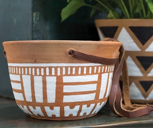 Hanging Terracotta Pot - Outside In