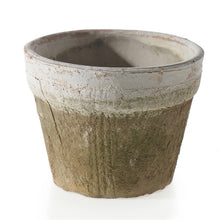 Load image into Gallery viewer, Weathered Terracotta Pot - Outside In