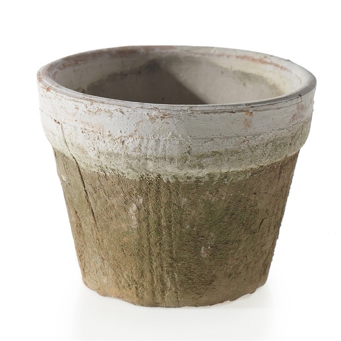 Weathered Terracotta Pot - Outside In