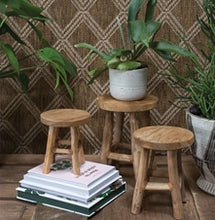 Load image into Gallery viewer, Wood Plant Stand