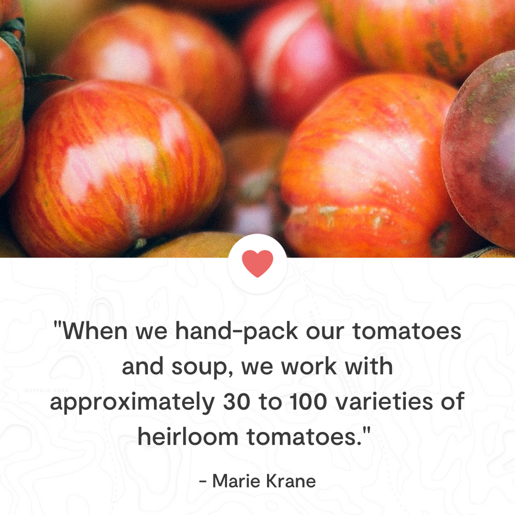 Tomato Bliss Heirloom Tomatoes Hand Packed Jarred tomatoes