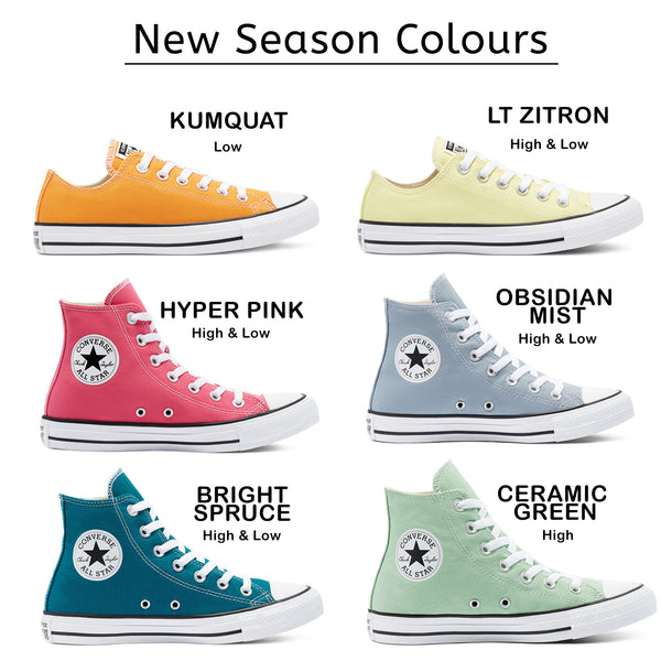 New Converse Shoe Colours