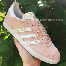Load image into Gallery viewer, Personalised Adidas Gazelle - Custom Converse Ltd.