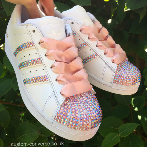 Swarovski Superstar - Custom Converse Ltd.