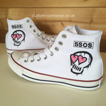 Load image into Gallery viewer, 5 Seconds of Summer Skull - Custom Converse Ltd.
