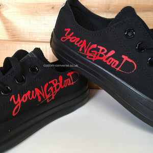 5 Seconds of Summer YoungBlood - Custom Converse Ltd.