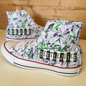 Beetlejuice - Custom Converse Ltd.
