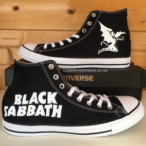 Black Sabbath - Custom Converse Ltd.
