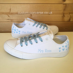Bridal Hearts - Custom Converse Ltd.