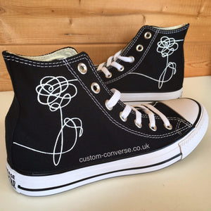 BTS Love Yourself Flower - Custom Converse Ltd.