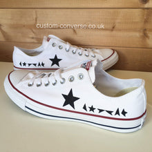 Load image into Gallery viewer, David Bowie Blackstar - Custom Converse Ltd.