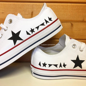 David Bowie Blackstar - Custom Converse Ltd.