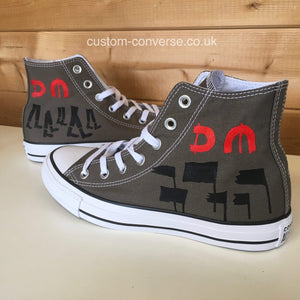 Depeche Mode Spirit - Custom Converse Ltd.
