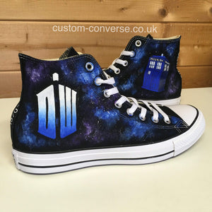 Doctor Who Galaxy - Custom Converse Ltd.