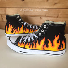 Load image into Gallery viewer, Flames - Custom Converse Ltd.