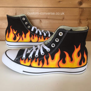 Flames - Custom Converse Ltd.