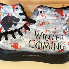 Load image into Gallery viewer, Game of Thrones House Stark - Custom Converse Ltd.