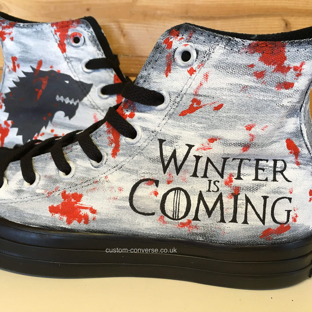 Game of Thrones House Stark - Custom Converse Ltd.