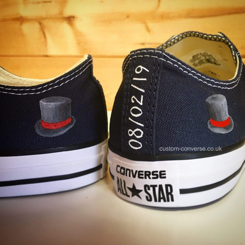 Groom Top Hat - Custom Converse Ltd.