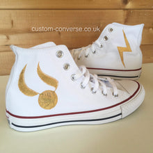 Load image into Gallery viewer, Harry Potter Golden Snitch - Custom Converse Ltd.