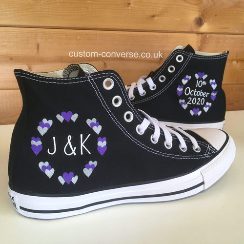Hearts Circle - Custom Converse Ltd.