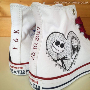 Jack & Sally - Custom Converse Ltd.