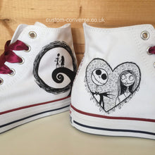Load image into Gallery viewer, Jack & Sally - Custom Converse Ltd.