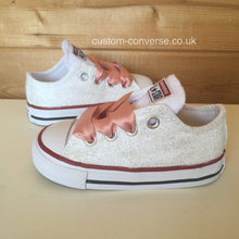 Load image into Gallery viewer, Kids Glitter - Custom Converse Ltd.