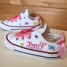 Load image into Gallery viewer, Kids JoJo Siwa - Custom Converse Ltd.