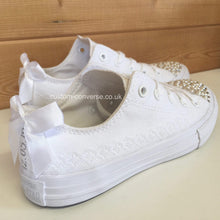 Load image into Gallery viewer, Kids Lace Trim - Custom Converse Ltd.