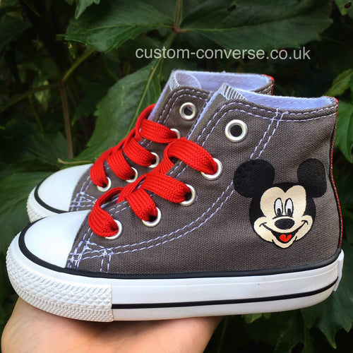 Kids Mickey Mouse - Custom Converse Ltd.