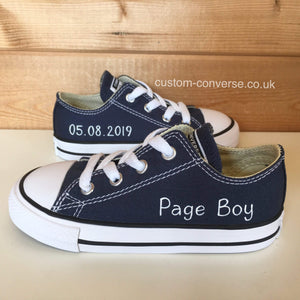 Kids Personalised Converse - Custom Converse Ltd.