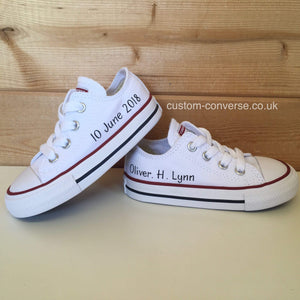 Kids Personalised Converse