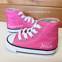 Load image into Gallery viewer, Kids Personalised Converse