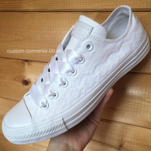 Lace Trim - Custom Converse Ltd.