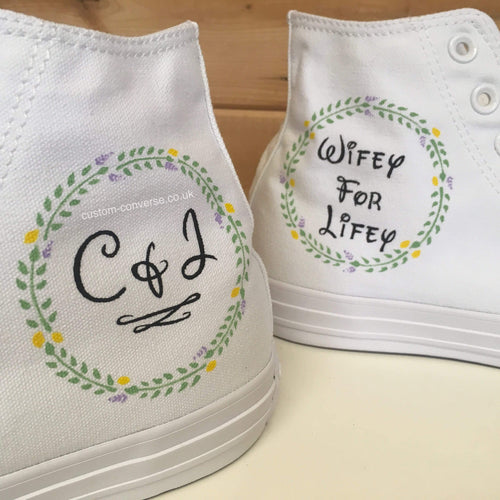 Leaf Circle - Custom Converse Ltd.