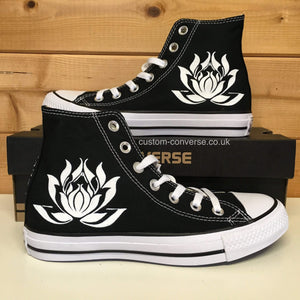 Lotus Flower - Custom Converse Ltd.