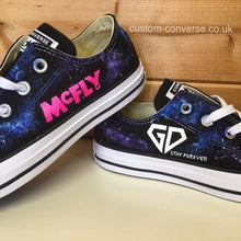 Load image into Gallery viewer, McFly Galaxy Defenders - Custom Converse Ltd.