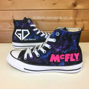 Converse Music McFly Galaxy Defenders