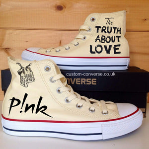 P!nk The Truth About Love - Custom Converse Ltd.