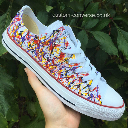 Paint Splatter - Custom Converse Ltd.