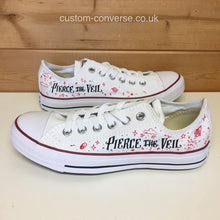 Load image into Gallery viewer, Pierce The Veil Misadventures - Custom Converse Ltd.