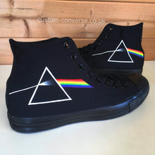 Load image into Gallery viewer, Pink Floyd Dark Side of the Moon - Custom Converse Ltd.